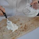 'aruss-labneh on bread