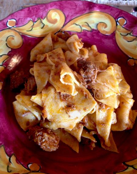 pasta-pappardelle al sugo di cinghiale copy