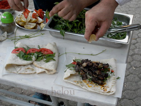 gaziantep-making own sandwiches-close up copy