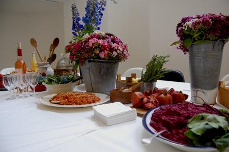 birthday picnic-beetroot dip