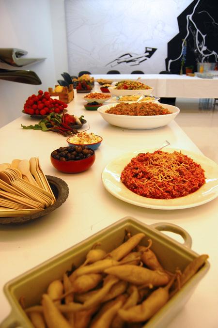 birthday picnic-food & zaha's work