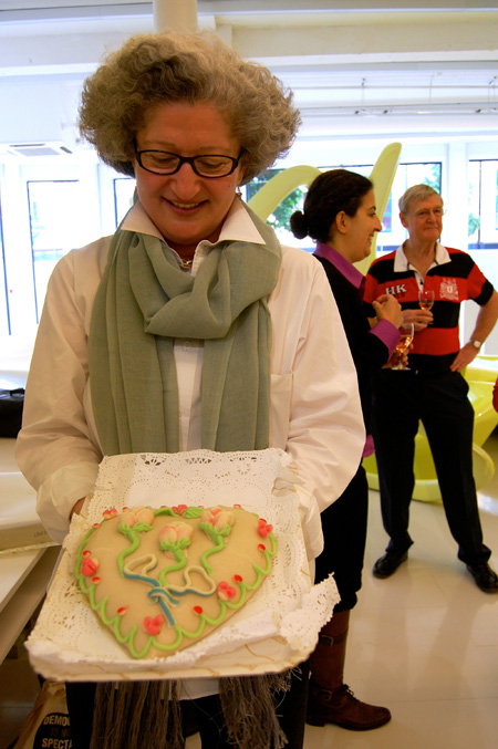birthday picnic-mary's present