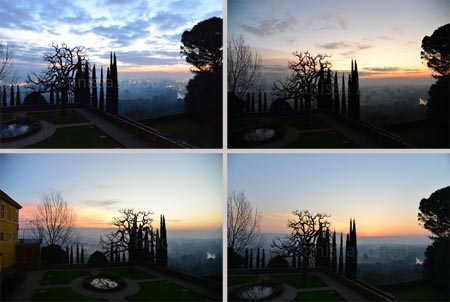 perugia-different sky from 7 to 8 am