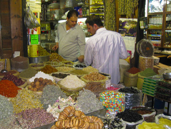 damascus-spice stall copy