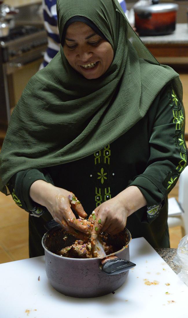 cairo-magda stuffing ox intestines copy