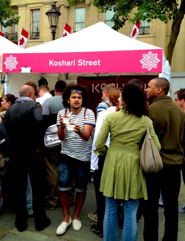 eid festival-koshari stall 2