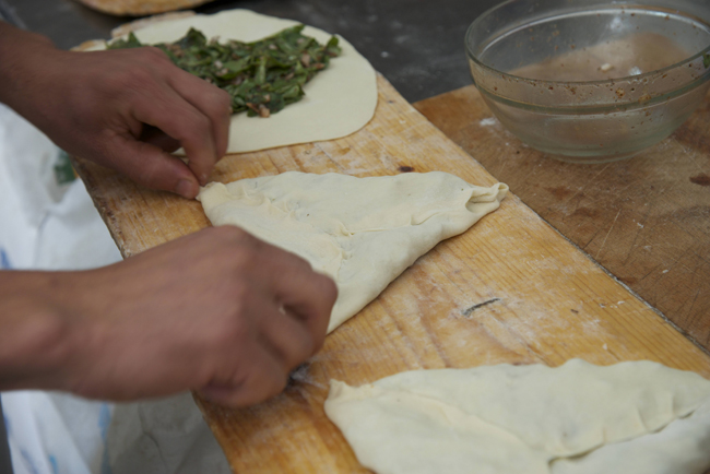 n-emile's bakery-purslane fatayer-shaping 2 copy