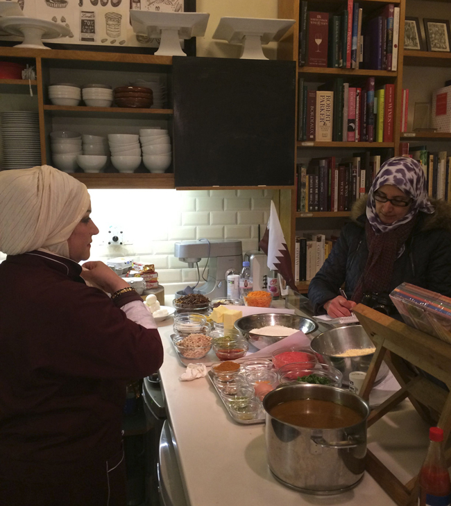 books for cooks-aisha being interviewed copy