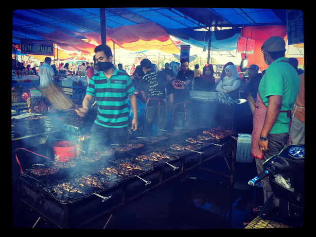 grilled fish stall-outside padang copy